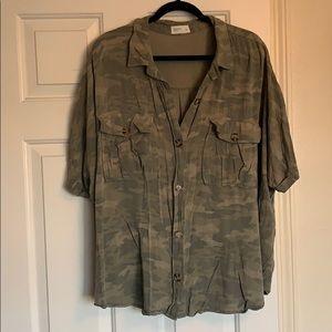 Maurice's camo camp shirt